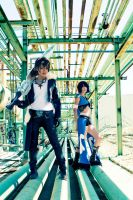 Squall and Rinoa by Shiya