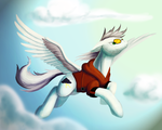[Commission] Stormy Skies by Clawed-Nyasu