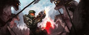 MasterChief on Diablo's Secret Level by Shev14th
