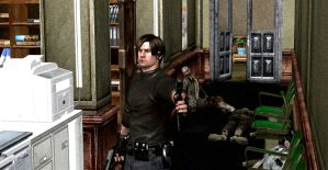 Leon S. Kennedy - The boss by wolodin