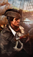 Captain Kenway by Guzzardi