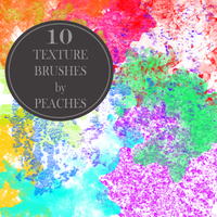 Texture Brushes 1 by JU5TPeachy