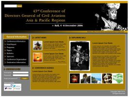 43rd DGCA Conference Web by astayoga