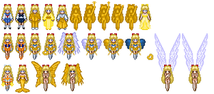 Sailor Venus Sprites by Honest-Beauty