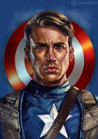 Chris Evans by jiangming