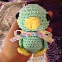 Easter Chick by theyarnbunny