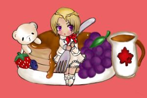 Hetalia Cafe:Canada Pancake by iCanadianBacon