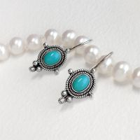 Blue Sky Earrings by Gweyeni