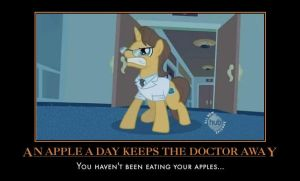 You havent been eating your apples... by Taryndedoo