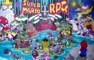 Super Mario RPG Tribute by VitoTheCat