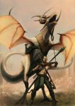 Wyvern Tamer by mindsiphon