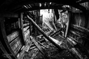 Inside the Barn III by SparkVillage