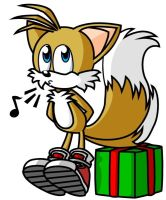 Tails' present by drhobo1987
