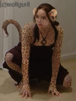 Leopard Girl by WolfGurll