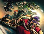 TMNT Villains by kcspaghetti