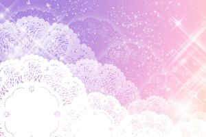 .:Purple Lace + Sparkle BG:. by MamuEmu