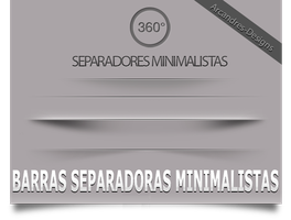 Barras Minimalistas by Arcandres