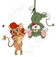 Misty Mouse and Wild Mouse by KikeRodz
