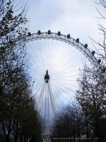 London's Eye by paschinpurple