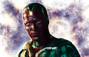 Avengers: Age of Ultron - The Vision by p1xer