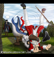 Assassin's Creed Suplex by karuuhnia