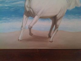The Horse White 10 by eduaarti