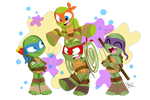 Teenage Mutant Ninja Turtles by trujayy