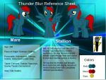 Improved Thunder Blur Reference sheet by royalguardianpc