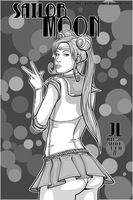 Sailor Moon -June '12 Daily Art Jam- Day 11 by JeremiahLambertArt