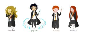 Harry Potter Character by Naxy-ah