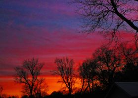 feb 6 2015 sunset #4 by HomeOfBluAndshadows