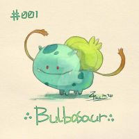Bulbasaur by FL-ZC