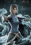 Korra in the Waves by williamcjones48