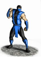 Sub Zero Ultimate MK3 by Ronniesolano