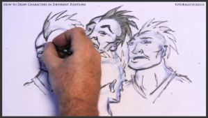 Learn to draw characters in different positions 28 by drawingcourse