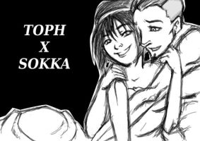 Smile - Tokka moment by Capsidia-Here