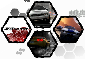 Need For Speed: Most Wanted (2012) by WE4PONX