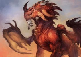 Red Dragon by thiago-almeida