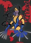 Sketchbook Project 2012 Kitana by tuplicka8785