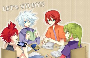 IN11: let's study by Angelschatedral99