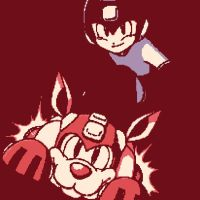 Megaman and Rush the Dog 2 by DevintheCool