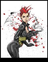 Black Widow Coloured by devgear