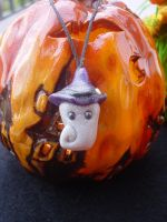 witch-hat spirit phonestrap by Libellulina
