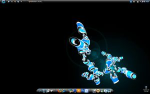 New desktop by Unknown-T