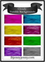Free Cloudy Tumblr Backgrounds by ibjennyjenny