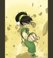 Toph by manee-sketch