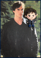 Chibi-Charms: Damon Salvatore by MandyPandaa