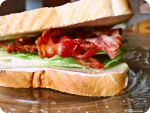 Bacon sandwich by auriculaire409