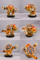 Meowser Custom Amiibo by ChibiSilverWings