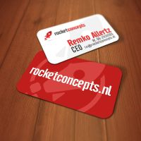 Rocket Concepts Business Card by jovargaylan